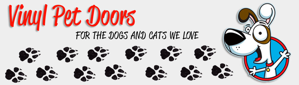 vinyl dog doors for your pets, vinyl pet doors for your dogs and cats