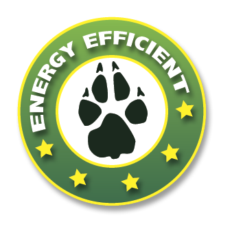Energy efficient pet doors